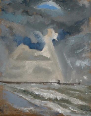 """Godlight - 16x20"""" - Oil on canvas"""