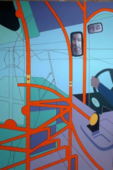 "The Journey - 62x42"" - Acrylic on canvas"