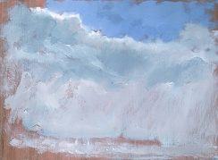 """Two kinds of Weather - 6x8"""" - Oil on panel"""