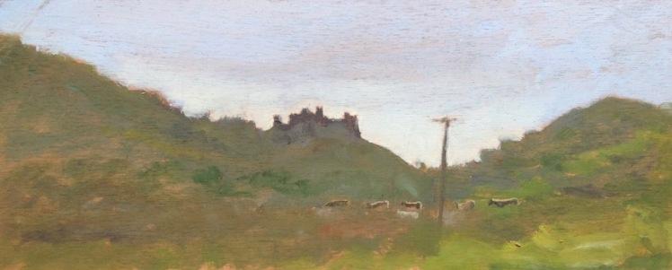Harlech Castle (5x12)x